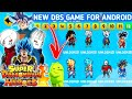 DOWNLOAD NEW DBS Mugen Style Apk Power Warriors For Android With Kanba, Oren & DBS Gogeta