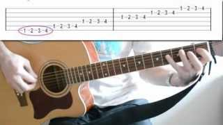 Гитара: упражнение для развития пальцев рук-2