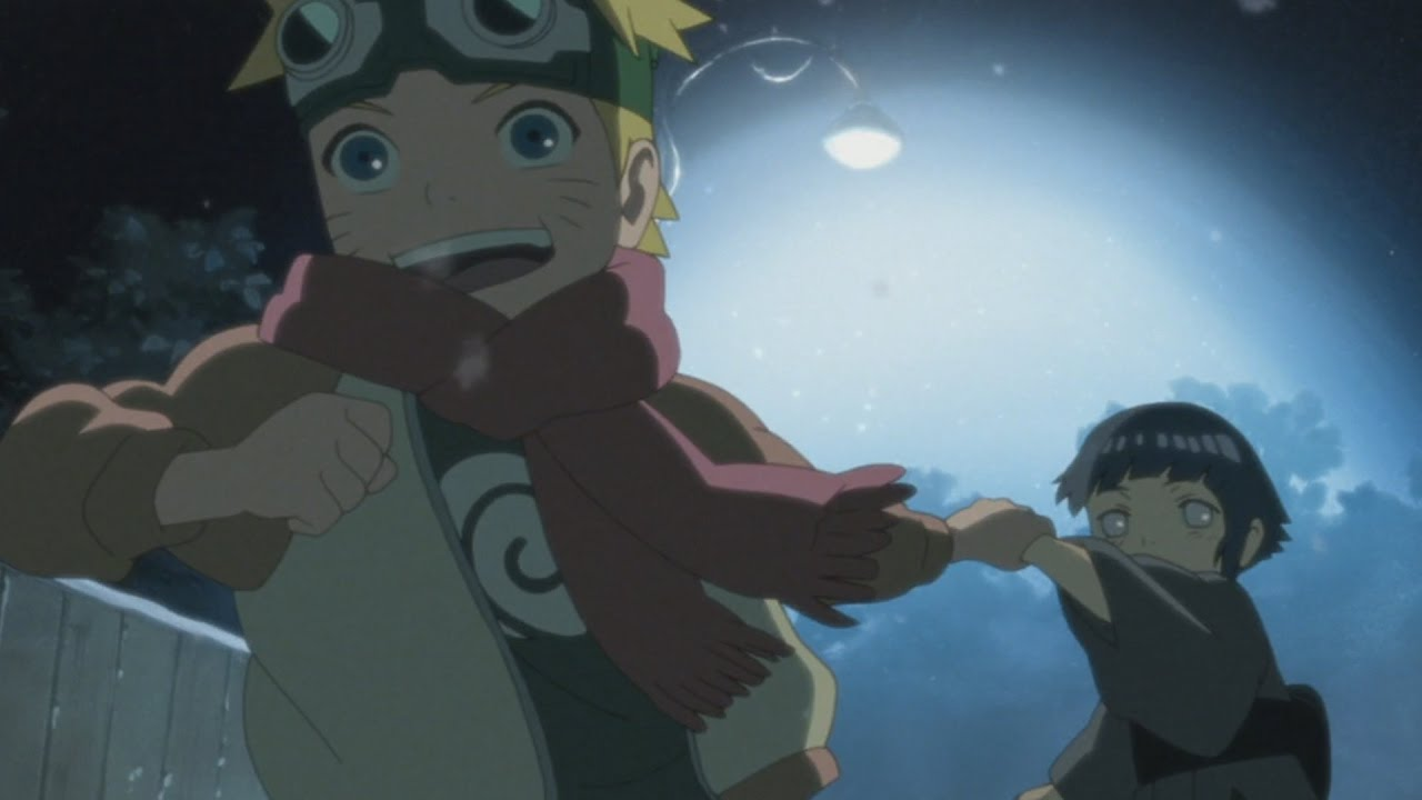 what episode does naruto meet hinata again