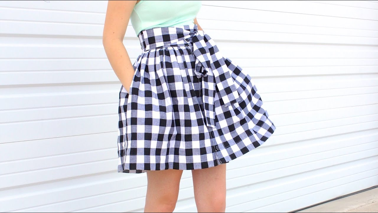 how to make a girl skirt
