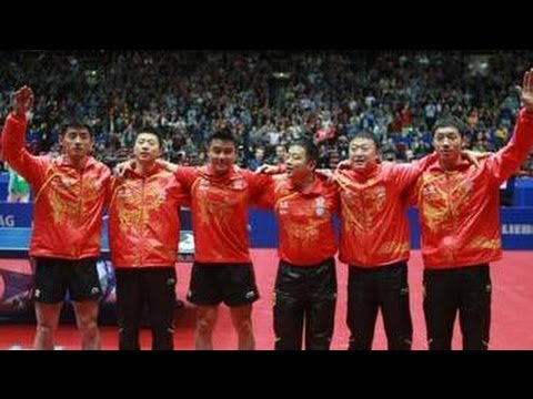 WTTTC 2012 Men's Team Final Highlights: Germany vs China