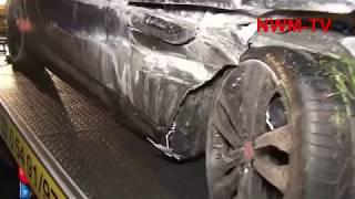 2019 10 18 A1 Neuenkirchen Jaguar Sportwagen gegen Golf NWM TV