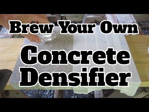 DIY Concrete Densifier
