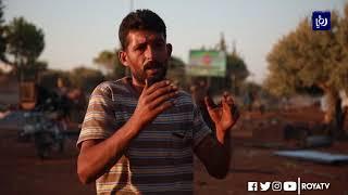 """""""حداد المخيمات"""" يصنع مأوى للنازحين في شمال غرب سوريا (24/11/2019)"""