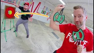 Game Of AXE THROWING / Epic Trick shots!
