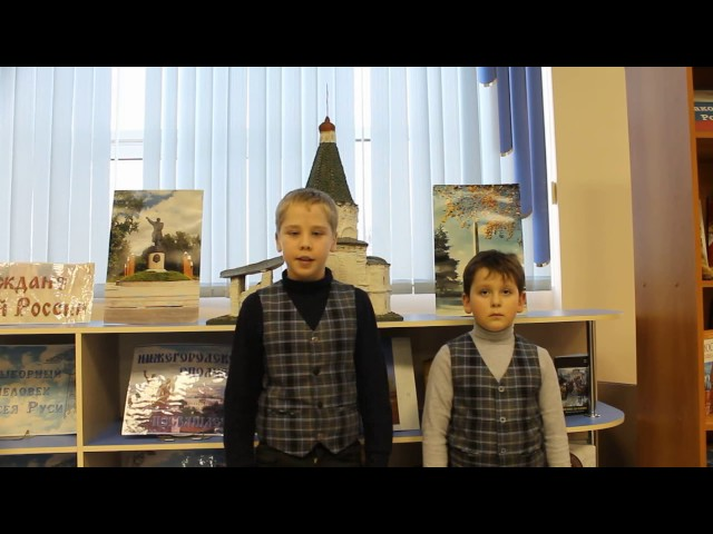 Изображение предпросмотра прочтения – «Дуэт» читают произведение «Волк и Ягнёнок» И.А.Крылова