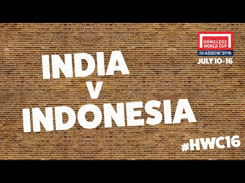 India v Indonesia l Group G #HWC2016