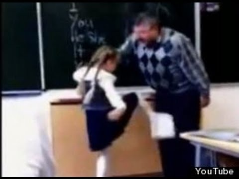 Kicked In The Nuts - Real Or Fake? (Russian Girl Strikes Back At Teacher)