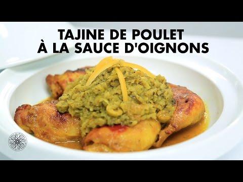 choumicha-:-tajine-de-poulet-à-la-sauce-d'oignons-|-شميشة-:-طاجين-الدجاج-بصلصة-البصل