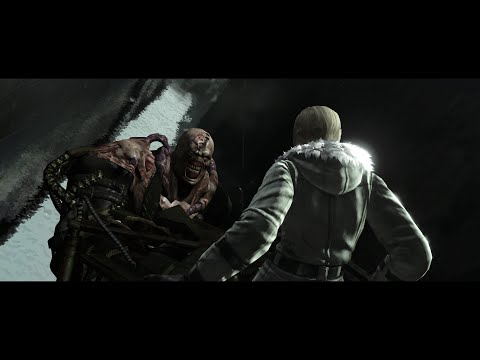 RE2 Remake Ryona Claire Classic - All Death Scenes | Music