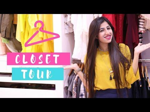 Closet And Dressing Tour | Simran Bhatia