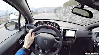 2016 Peugeot 208 GTI (208HP) POV Drive on Winding Roads
