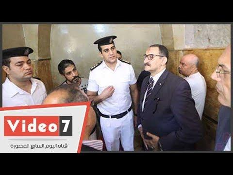 وفد -حقوق الإنسان- بالبرلمان يصل قسم شرطة روض الفرج فى زيارة تفقدية  - 14:22-2017 / 9 / 21