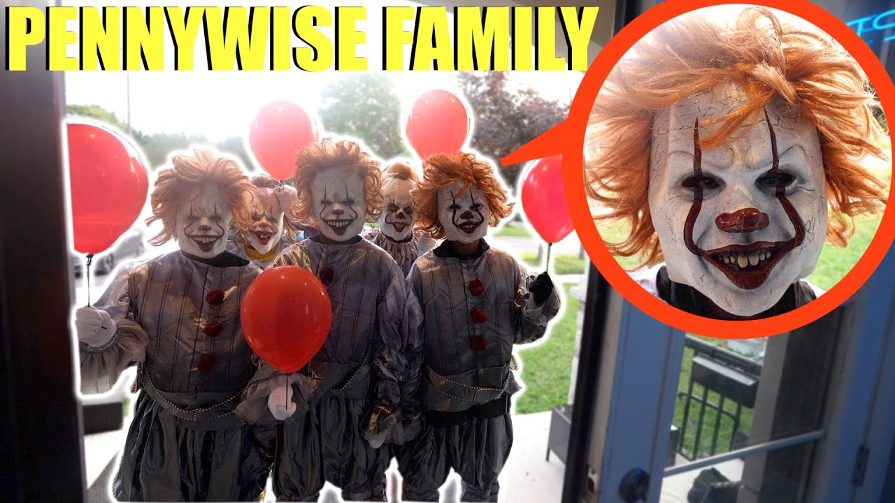Download when you see the Pennywise Clown Family outside your house, lock your doors and do NOT let them in!