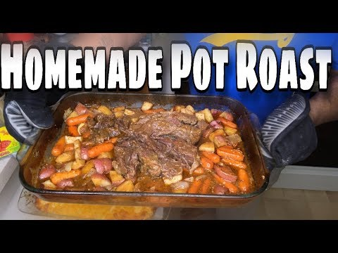 Homemade Pot Roast | How To Cook Pot Roast | The Best Pot Roast Ever| Flavasbydamedash