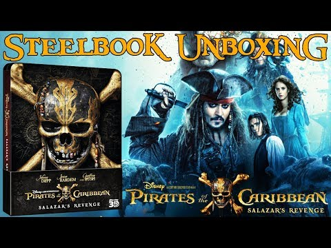 Blu-ray Movies (Vol.42 ) - Piratas del Caribe 5 - STEELBOOK - Dead Men Tell No Tales