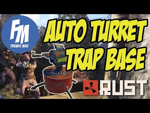 MY AUTO TURRET TRAP BASE WRECKED THE ONLINE RAIDER! | Rust Solo Survival S22E02 thumbnail