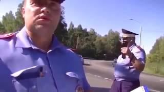 Беспредел ДПС Водитель просто в шоке от такого разговор с ДПС