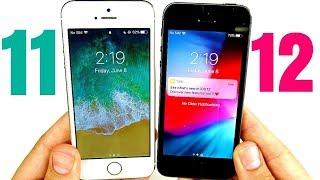 Iphone SE ios 11 vs 12