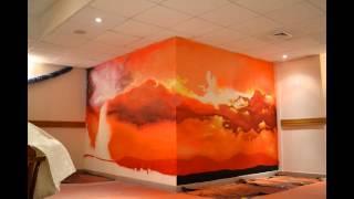 Заказать граффити в Москве . Оформление офиса(, 2016-01-28T08:19:07.000Z)