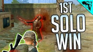 YOLO SOLO WIN! - PlayerUnknown\'s Battlegrounds Gameplay Highlights (PUBG SOLO WIN GAMEPLAY)