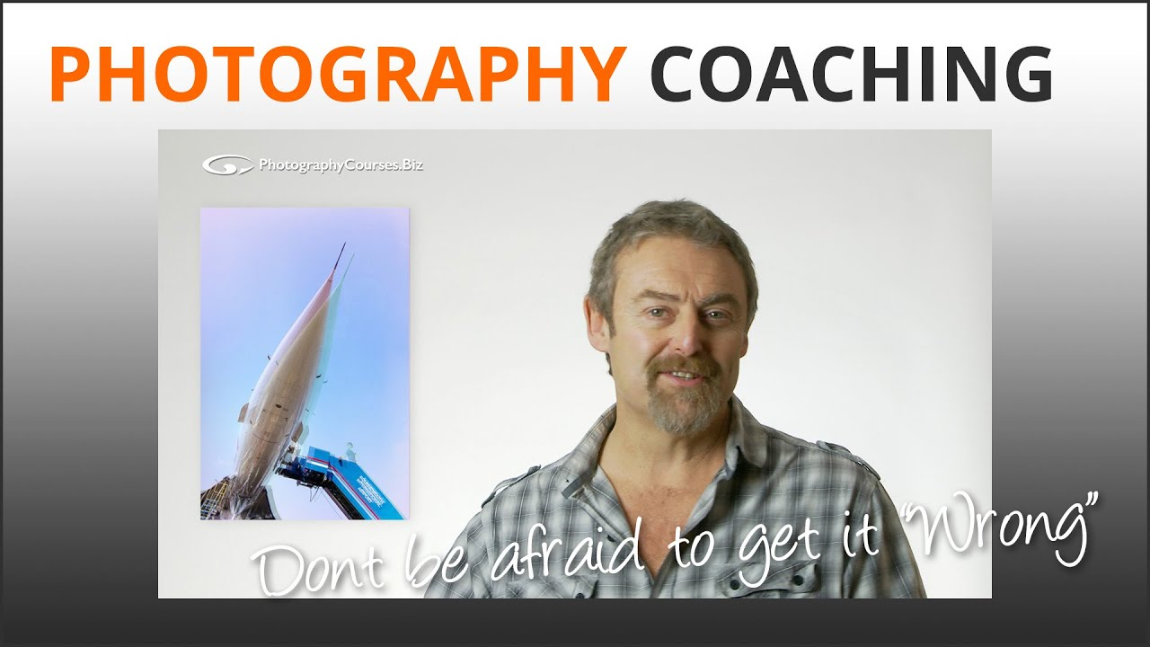 Photography Tips: Don't be afraid to get it 'Wrong'. Fear is a creativity killer!