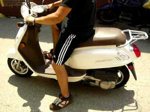 sym fiddle ii 125cc gas powered scooter motor scooter sold youtube. Black Bedroom Furniture Sets. Home Design Ideas