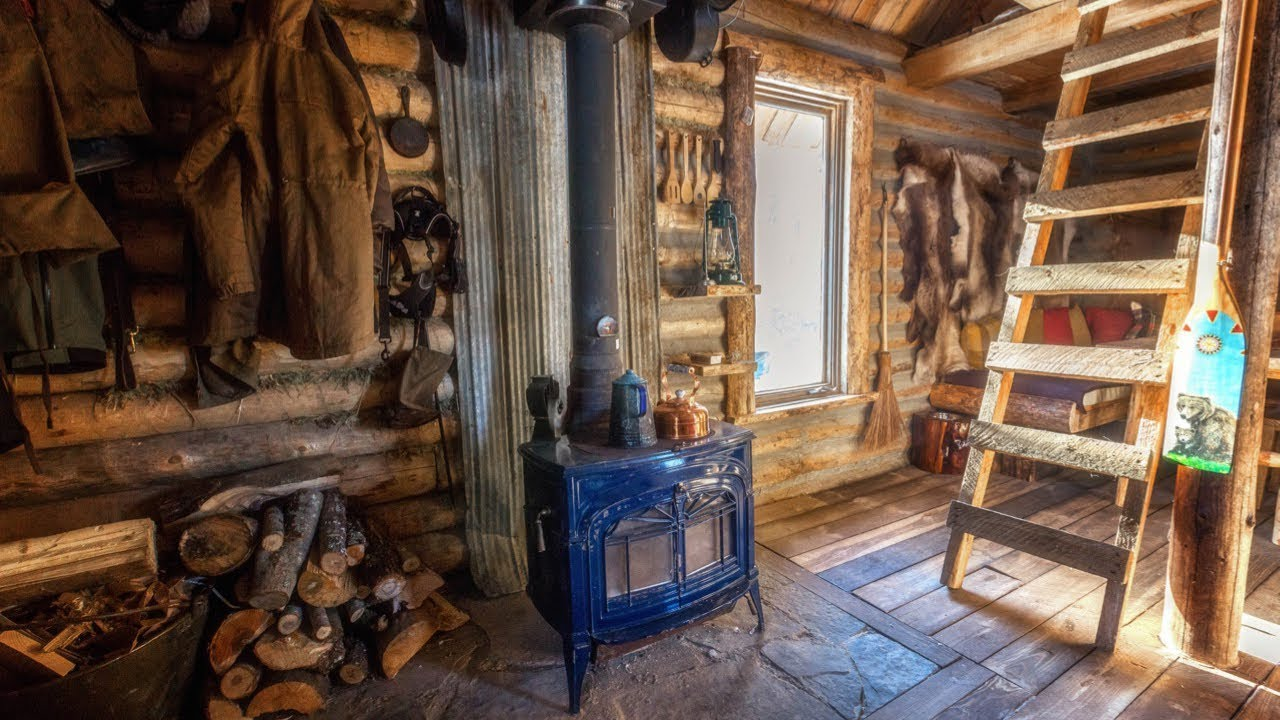 cabin-life-below-zero-joe-robinet-visits-my-off-grid-log-cabin-winter-camping-and-ice-fishing