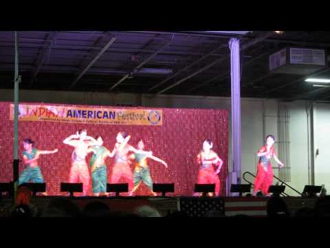 Tanvi Dance in Indo American Fair in New Jersey
