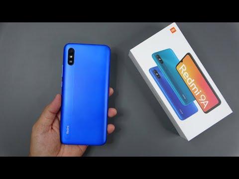 Xiaomi Redmi 9A Sky Blue unboxing, camera, antutu, game test
