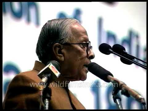 Jyoti Basu announced industrial policy to rejuvenate West Bengal's industrial wasteland