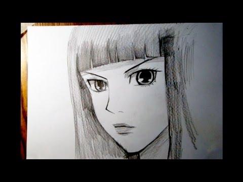 видео: Как рисовать аниме. Сунако. sunako