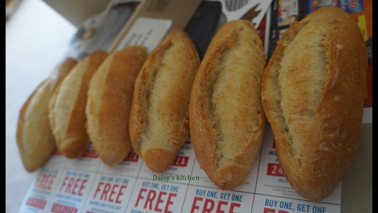 How to make White Baguette – Cách làm bánh mì Việt