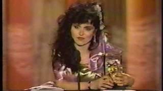 George Carlin presents Judy Tenuta American Comedy Award