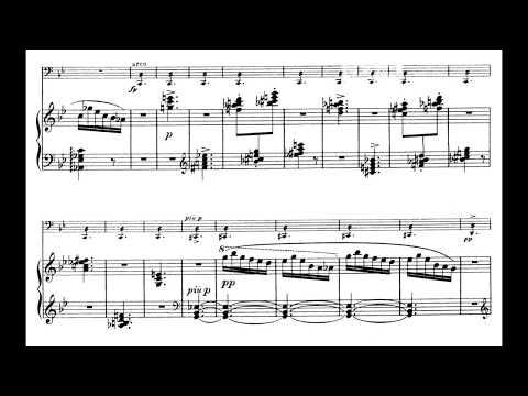 Ernö Dohnányi - Cello Sonata In B Flat Minor, Op. 8 [audio + Score]