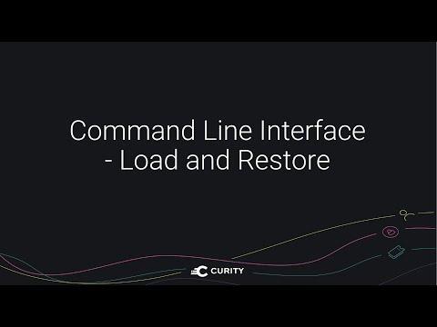 CLI - Load and Restore Configuration