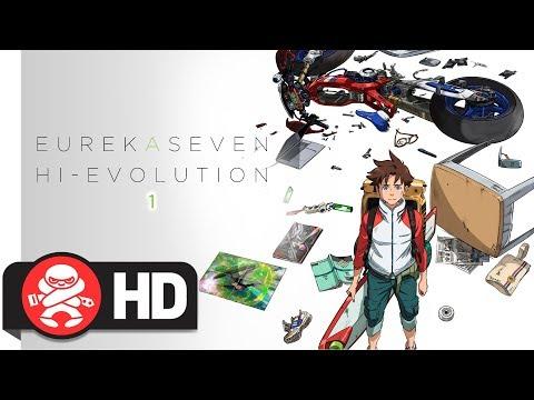 Eureka Seven Hi-Evolution - Official Trailer
