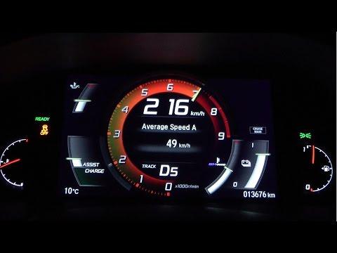 2017 Honda NSX 581 HP 0-100 km/h, 0-100 mph & 0-200 km/h Acceleration