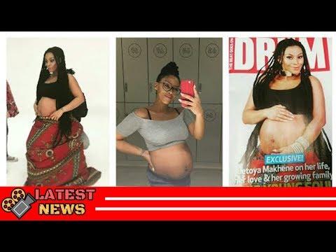 Generations actress Letoya Makhene aka Tshidi is pregnant!