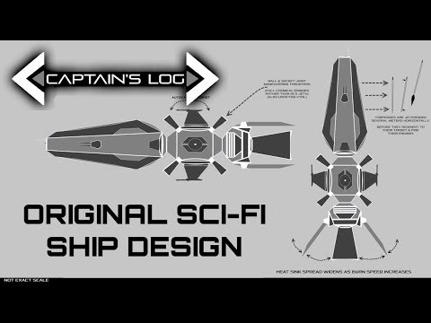 An Original Sci-Fi Ship Design - Spacedock