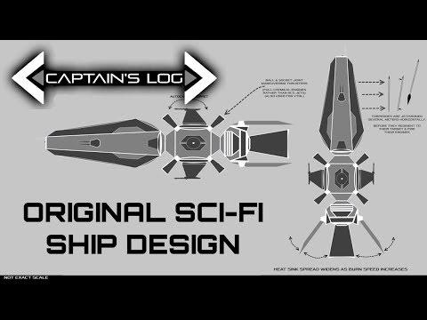 An Original Sci-Fi Ship Design - Spacedock