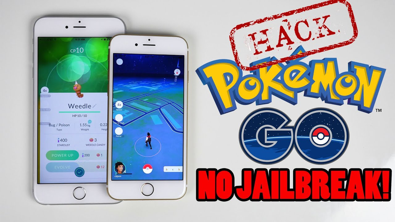 Pokemon GO Cheats & Hacks NO JAILBREAK!! - YouTube