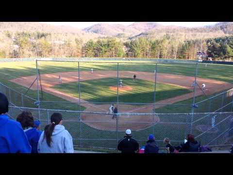 Tanner Revis Enka Baseball Dirtbags April 2014