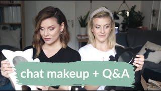 Q&A MAKIJAŻOWE | CHAT MAKEUP - nasz dzienny makijaż | Ulubieńcy i nowości | MarKa