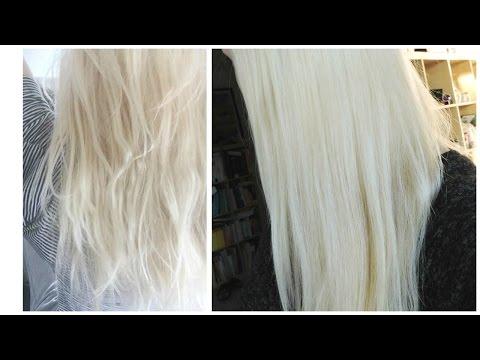 WŁOSY ❤ Olejowanie = Od czarownicy do królowej śniegu ! :)  | Allvena #18
