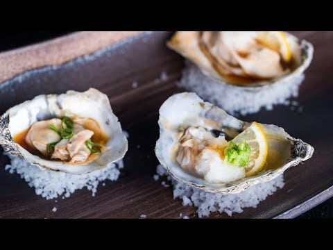 How To Make GRILLED OYSTERS WITH PONZU SAUCE (Recipe) 牡蠣のポン酢焼きの作り方 (レシピ)