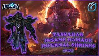 Grubby | Heroes of the Storm | Insane Damage Tassadar - PTR - Infernal Shrines