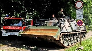 Bundeswehrunterstützung in Düsseldorf