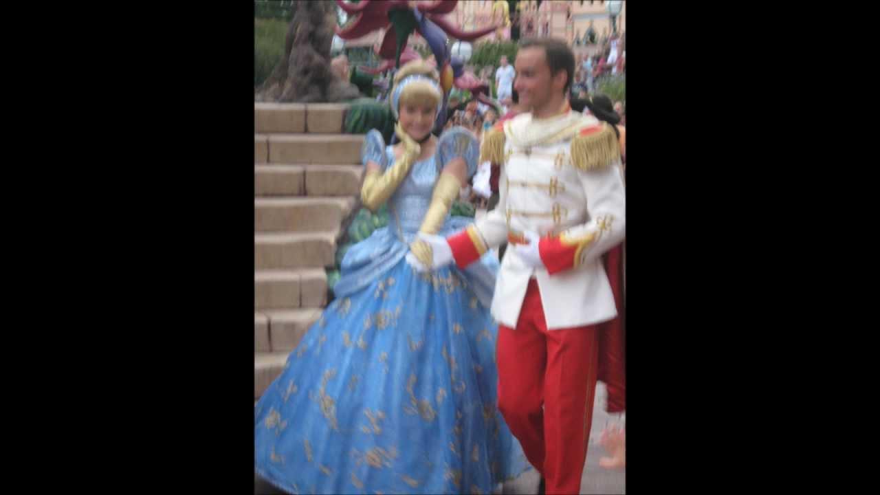 Cendrillon et son prince charmant disneyland paris youtube - Cendrillon et son carrosse ...