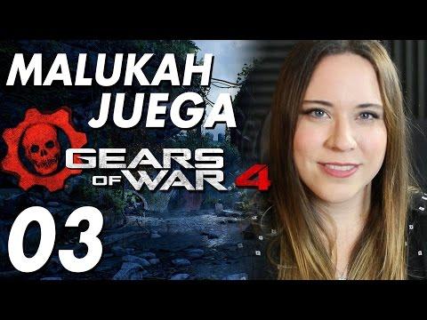 Gears of War 4 - Español Latino - Malukah Juega Ep. 3